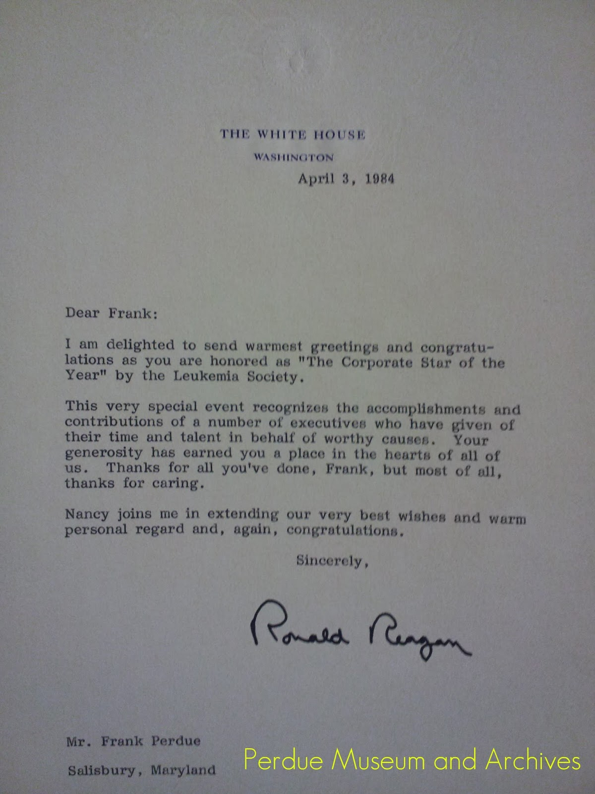 Perdue museum letter from the president kristyandbryce Image collections