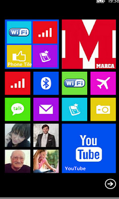 Phone Tile Windows Phone