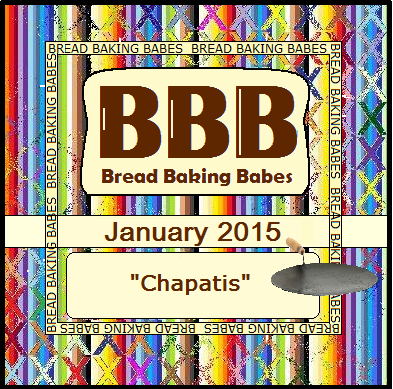 Bread Baking Babes - January 2015 Chapatis