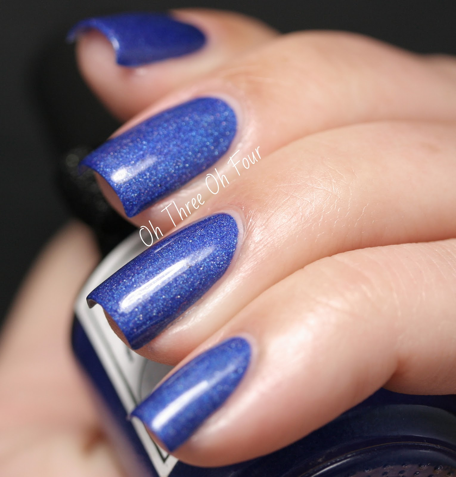 Lacquerhead Polish Blue Bayou Swatch