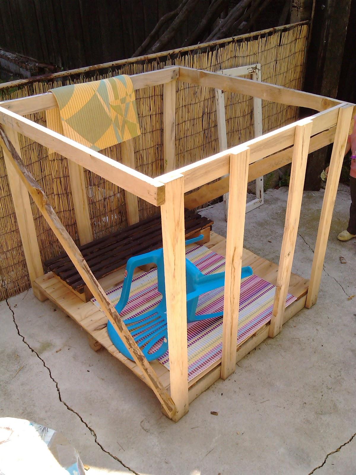 SaTynina bajka!: Kućica ispod drveta - DIY playhouse