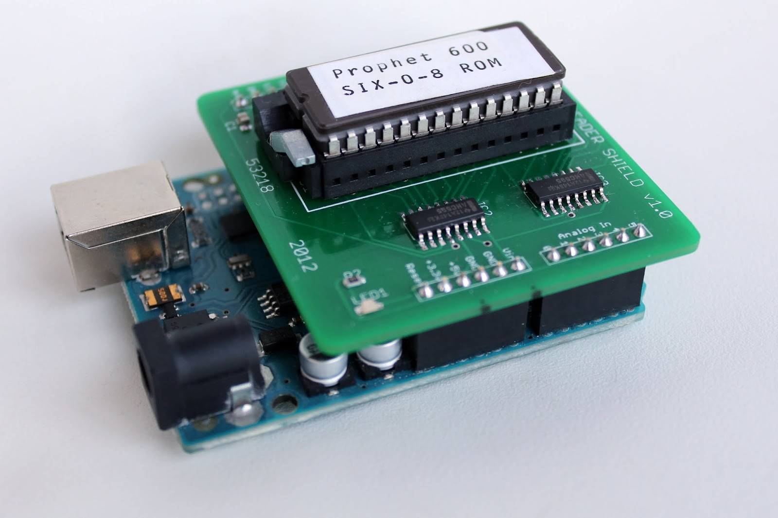 Reading the prophet s firmware with an arduino eprom