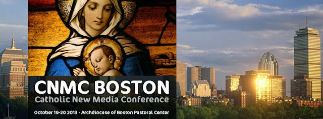 CNMC Boston Logo - Catholic New Media Conference