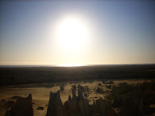 Sunset over the Pinnacles Desert, Cervantes, WA - own image