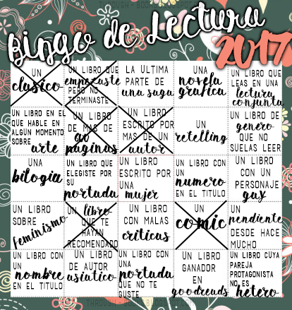 ¡Bingo literario!