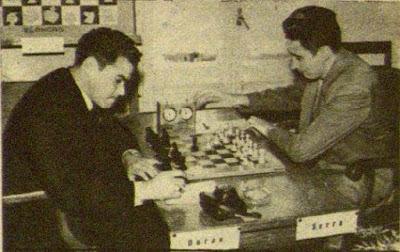 Partida de ajedrez Joaquim Serra - Joaquim Durão, Tarragona 1960