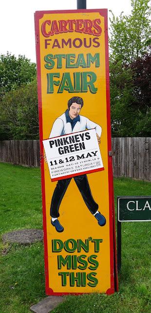 Carters Steam Fair, Pinkneys Green