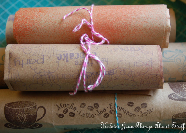 http://kelsterjean.blogspot.com/2013/01/ten-things-you-can-do-with-kraft-paper.html