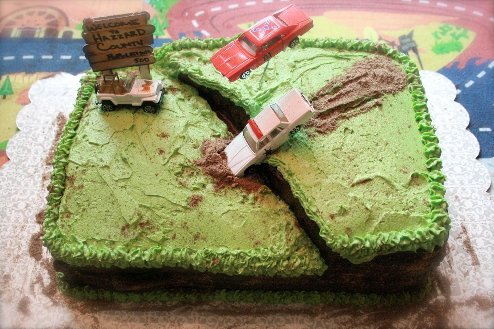 Two Going On Twenty The Dukes Of Hazzard Birthday Cake