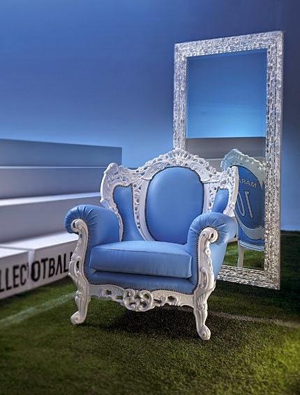 El Mundial de Futbol llega a la decoración Mueble seleccion argentina