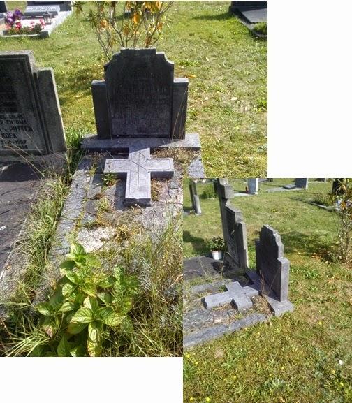 grafsteen opknappen, restaureren