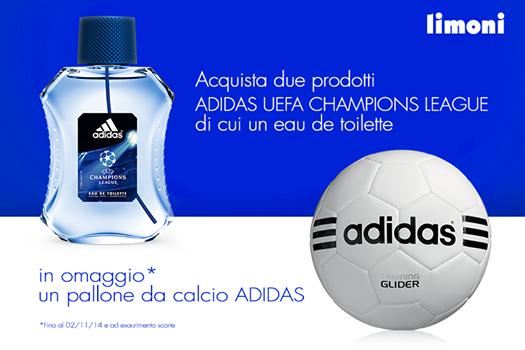 prodotti adidas uerfa con omaggio il pallone