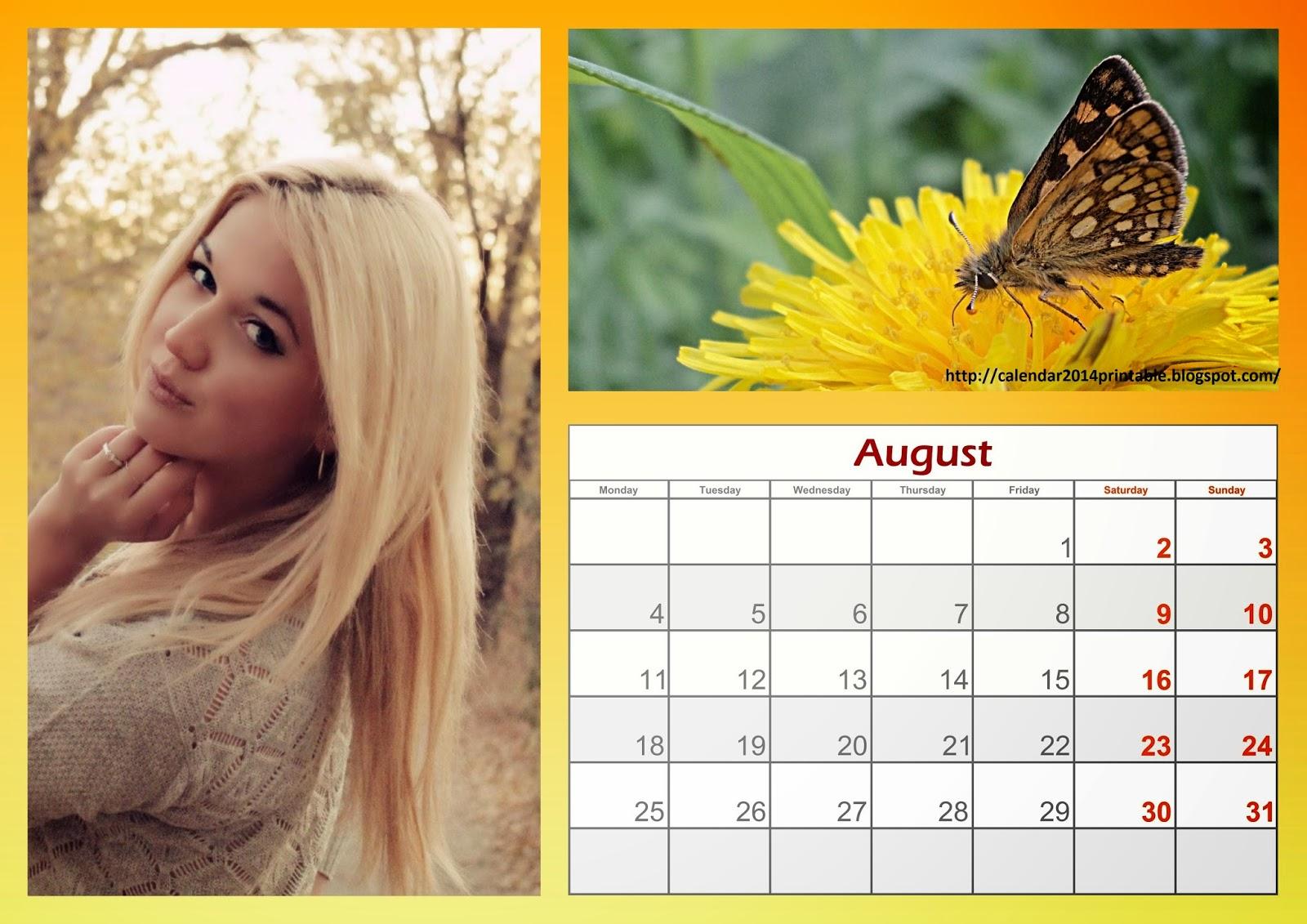 Free photo calendar maker software Digital Retouching for Fashion Beauty Portrait Photography