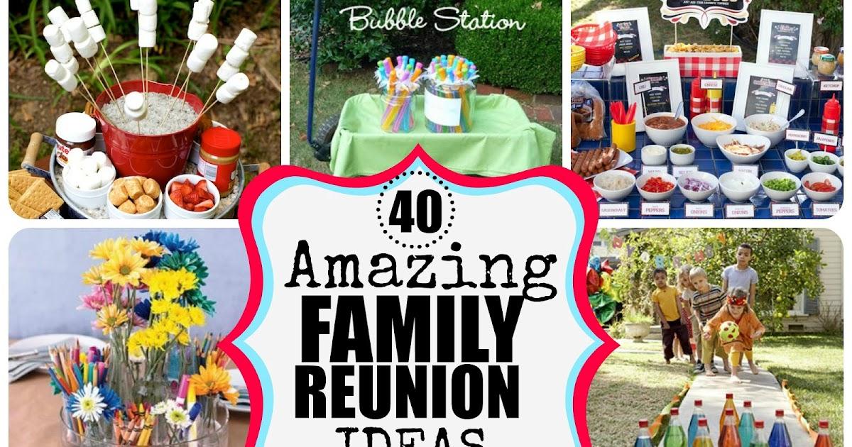 Family Reunion Ideas >> Charlys Room 40 Amazing Family Reunion Ideas
