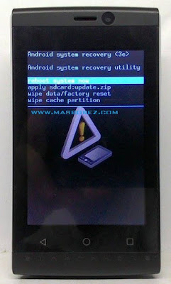 Cara hard reset advan S35