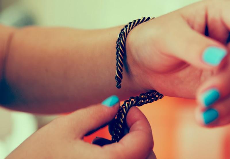 Как сделать браслет и кольцо