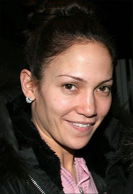 chatter busy jennifer lopez no makeup