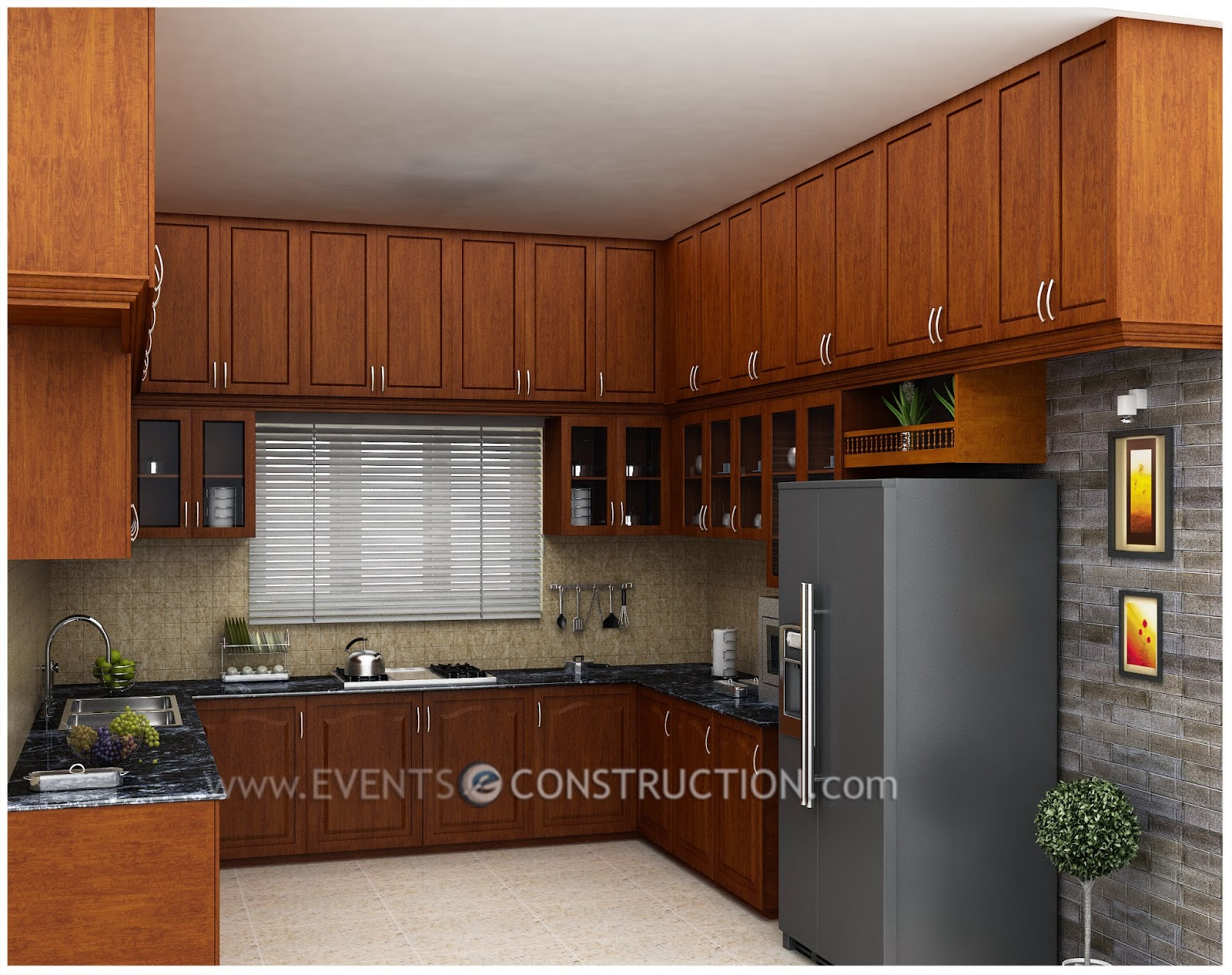 Kerala Kitchen Interior Design