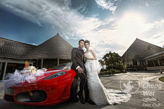 Lee Chong Wei - Wong Mei Choo - Prewedding Photos