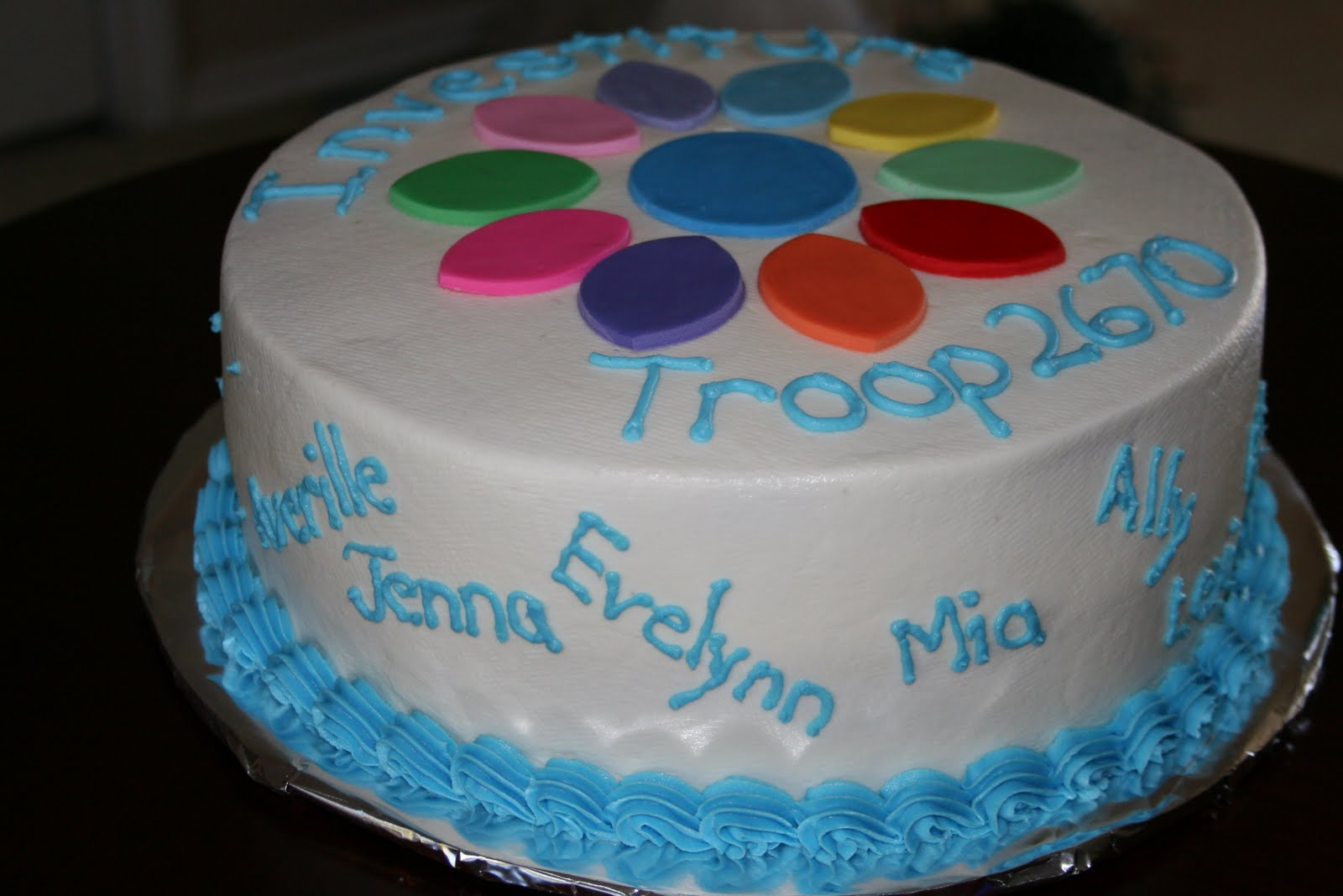 Rachel s Creative Cakes: Daisy Girl Scout Investiture Cake