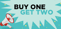Jabong : Buy one Get Two Free Offer : BuyToEarn