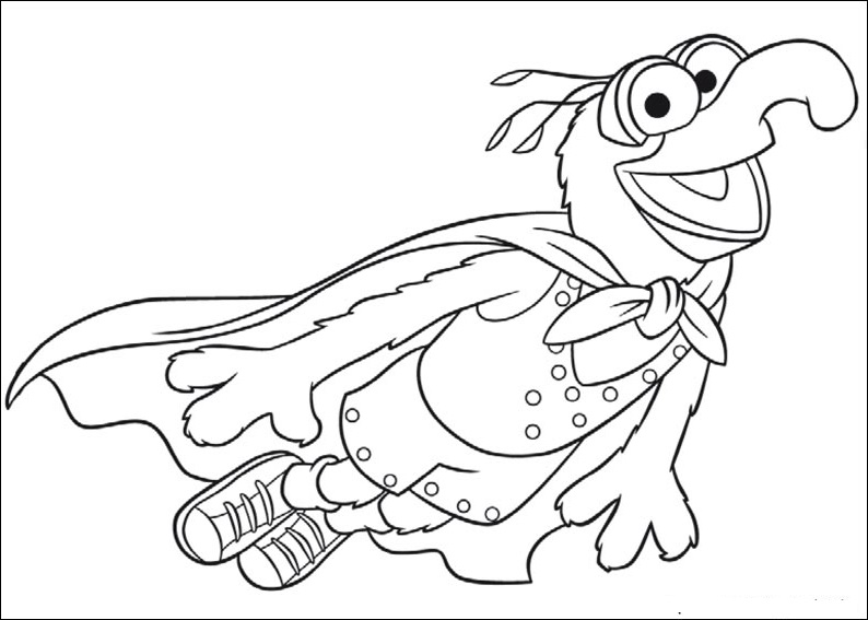 muppets coloring pages - photo#28