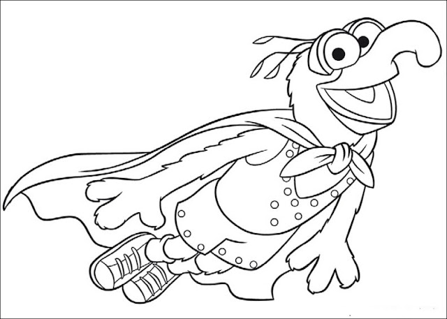 Fun Coloring Pages The Muppets