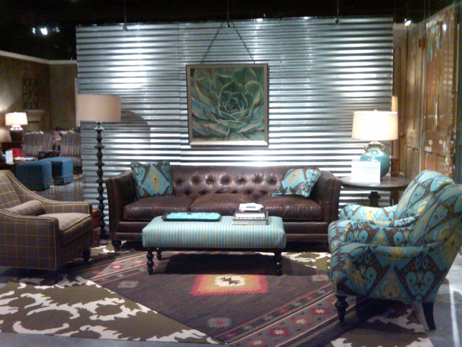Interior design 2 you design trends 2012 what 39 s hot this for Accent chair with brown leather sofa