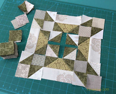 Allietare Bonnie Hunter Mystery Quilt 2015 - Part 2