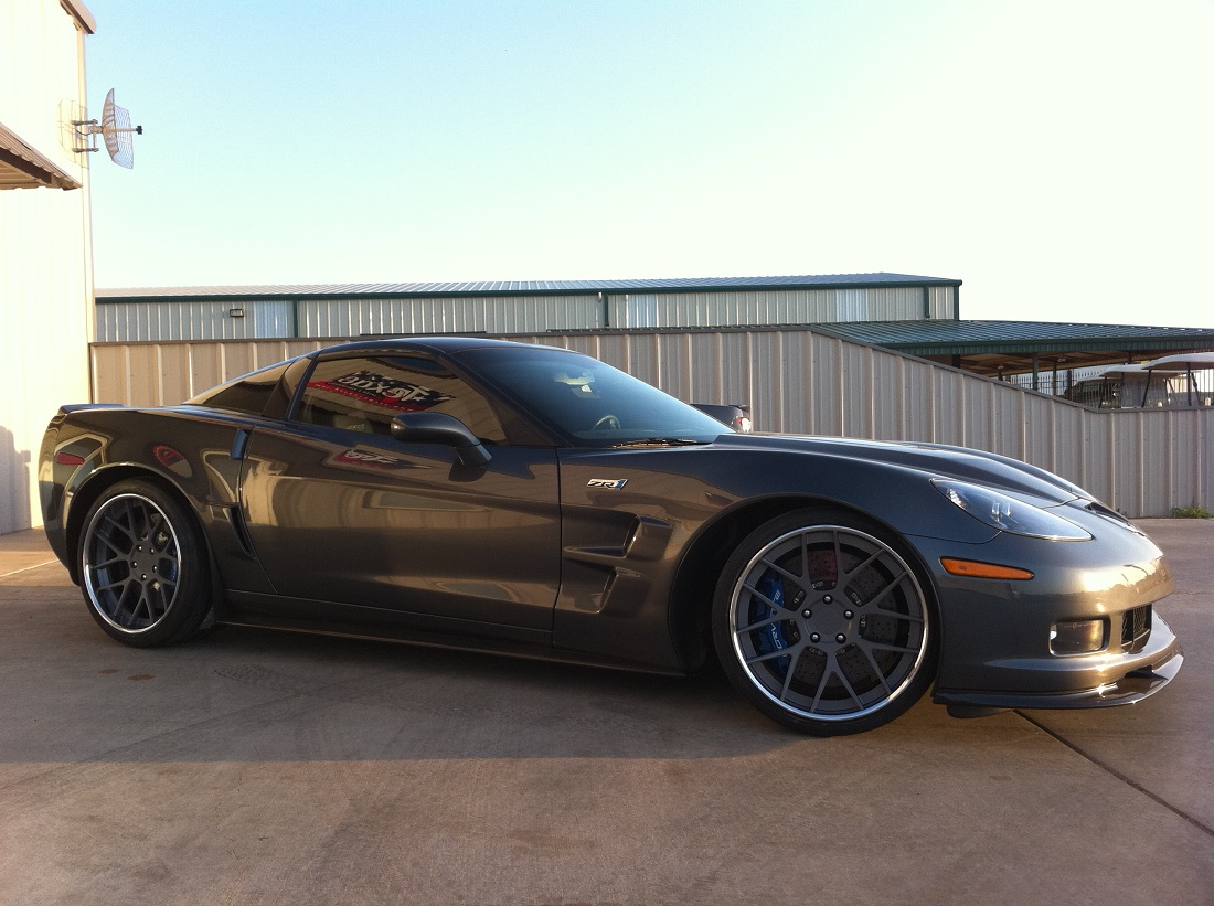 Deviate Motoring Cor Forged Quot Precise Quot 20s On Corvette Zr1