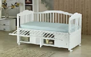 Bộ giường cũi đa năng cho bé sơ sinh đến 10 tuổi hàng xuất khẩu Mỹ