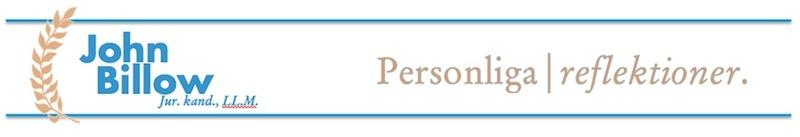 John Billow - Personliga reflektioner