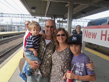 Turistas indo para NY