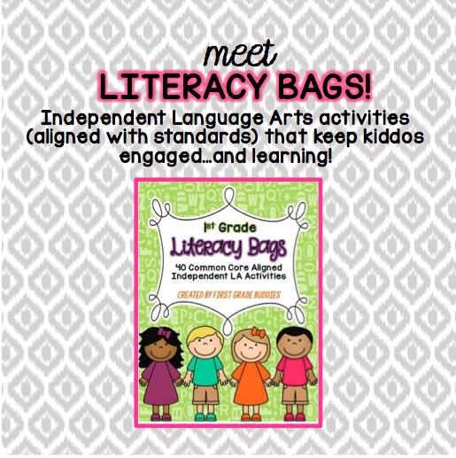 http://www.teacherspayteachers.com/Product/Literacy-Bags-for-1st-Grade-40-Common-Core-Aligned-Language-Arts-Centers-1357402