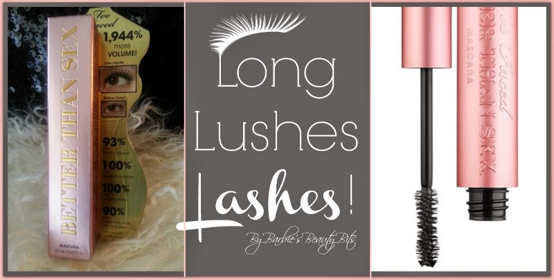 Lashing Out...With Long Lushes Lashes, By Barbie's Beauty Bits