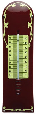 Design emaille thermometer