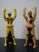 Beet Buster Meets Magi Yellow Ranger Key Bandai