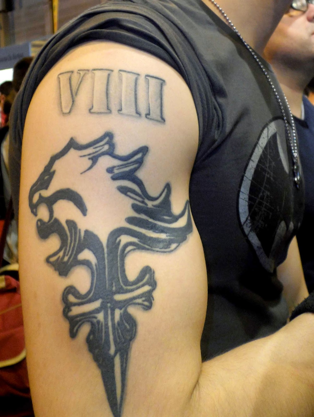 tatoo lionheart final fantasy VIII 8
