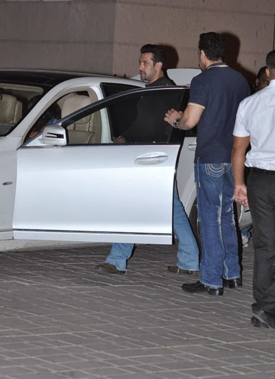 Salman Khan returns from Jodhpur