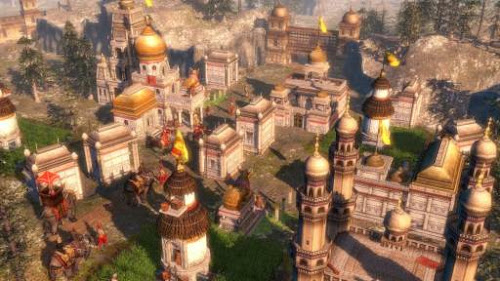 Screen Shot Of Age of Empires 3 Complete Collection (2013) Full PC Game Free Download At Downloadingzoo.Com