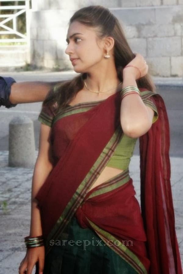 nazriya nazim in half saree from naiyaandi movie electrihot