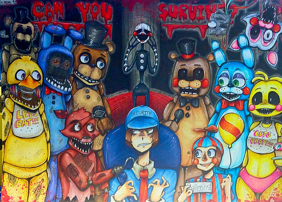 Fnaf can you survive animation