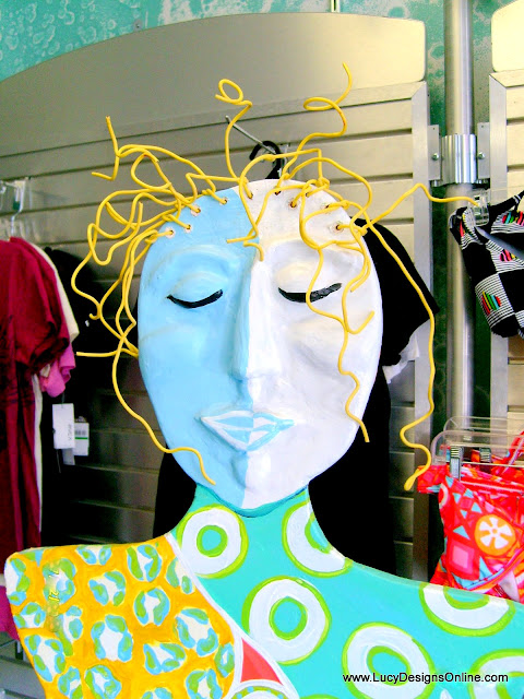 whimsical mannequin