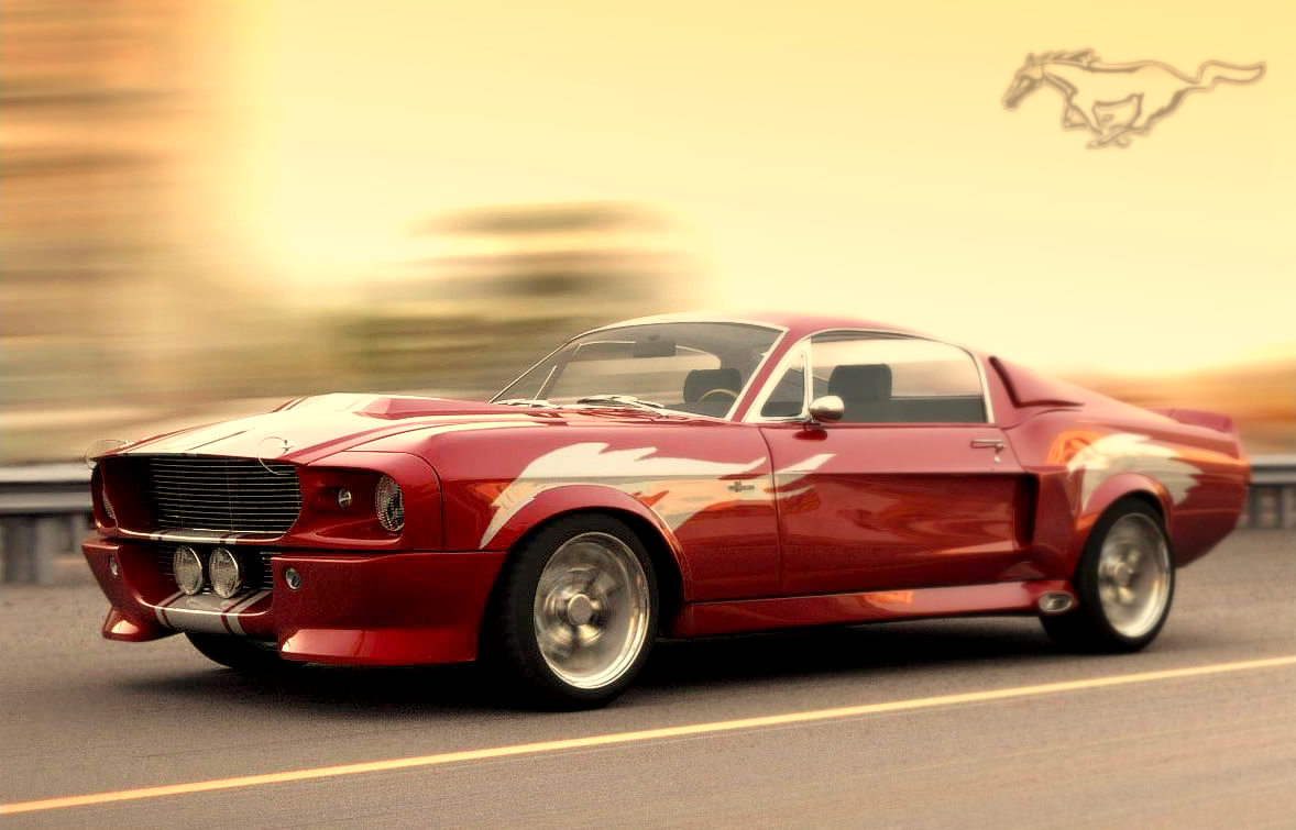 1967 Mustang Shelby GT500
