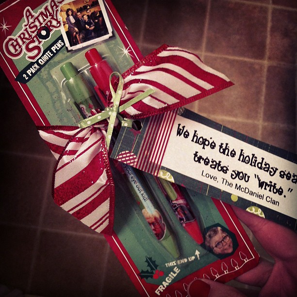The christmas story gift ideas