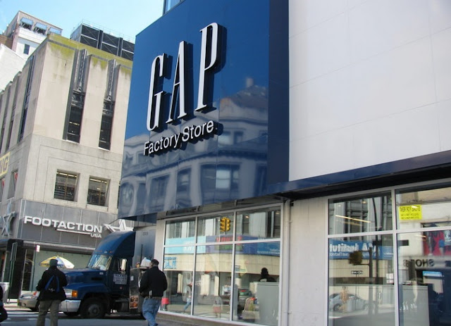 El 1r outlet de GAP en Nueva York