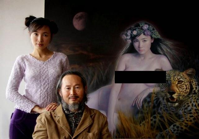 Bapa Jadikan Anak Gadis Sendiri Subjek Lukisan Bogel