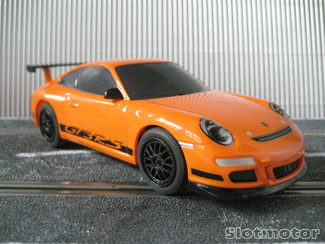Porsche 911 GT3 RS (997) Orange - SuperSlot