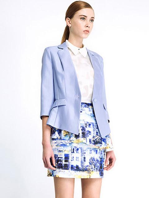 Thời trang áo khoác nữ Hàn Quốc thu đông 2015