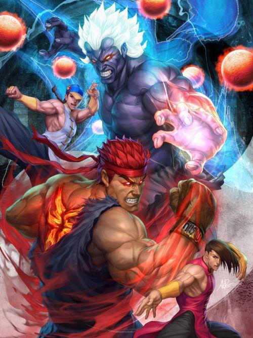 Stanley Lau artgerm deviantart ilustrações mulheres sensuais games quadrinhos Street Fighter poster